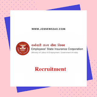 ESIC Bengaluru Recruitment 2020 for Senior Residents