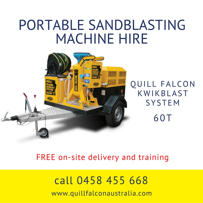 Quill Falcon Kwikblast Dustless Blasting Machine Falcon 60T