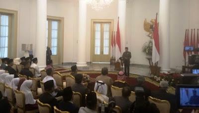 Presiden Jokowi: Isra Mikraj Harus Dimaknai dengan Ketakwaan dan Keikhlasan dalam Beriman - Info Presiden Jokowi Dan Pemerintah