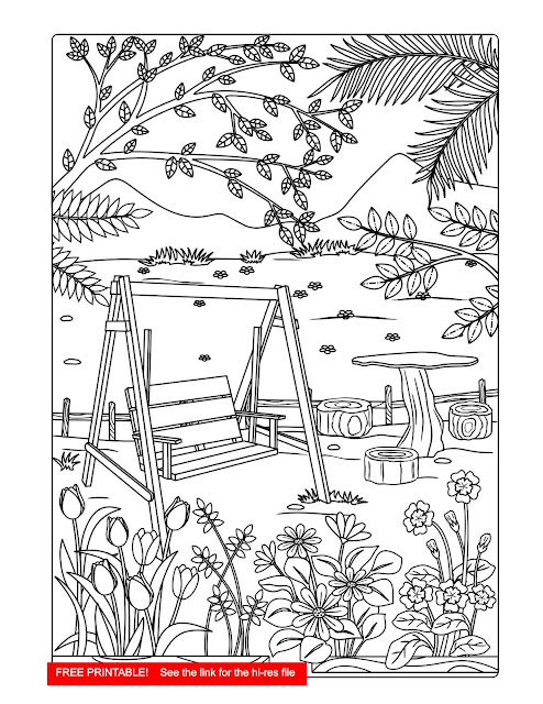 free download, printable, coloring page,ricldp artworks