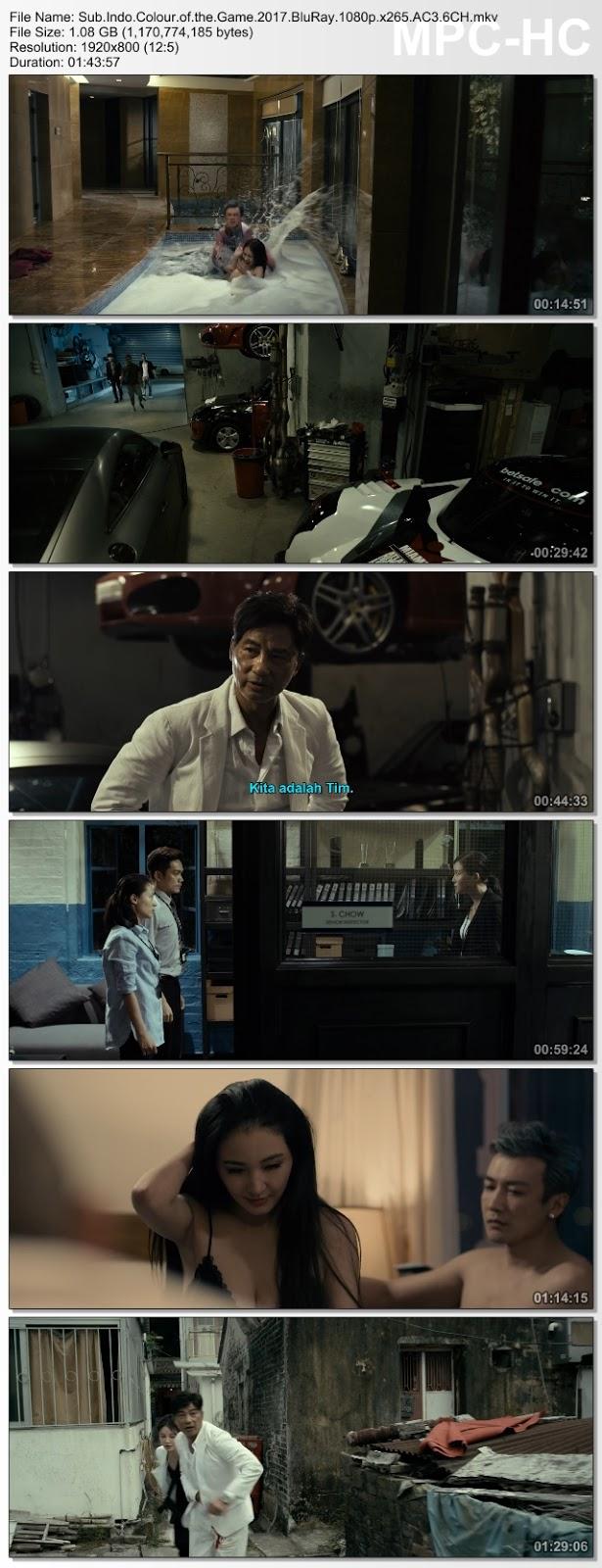 Screenshots Download Hei bai mi gong (2017) BluRay 480p & 3GP Subtitle Indonesia