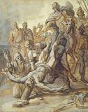Martyrdom of St Pieter (Mid-17th century - History, Religious) - Caspar de Crayer