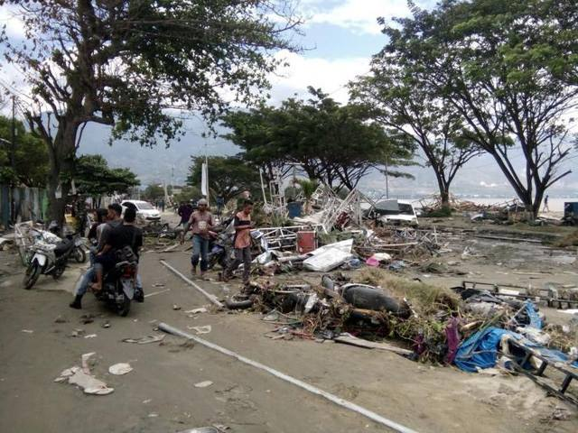 thảm họa động đất, sóng thần Indonesia