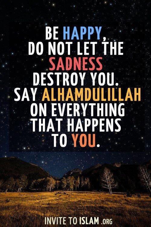 Tazkirah Jumaat #39 : Alhamdulillah