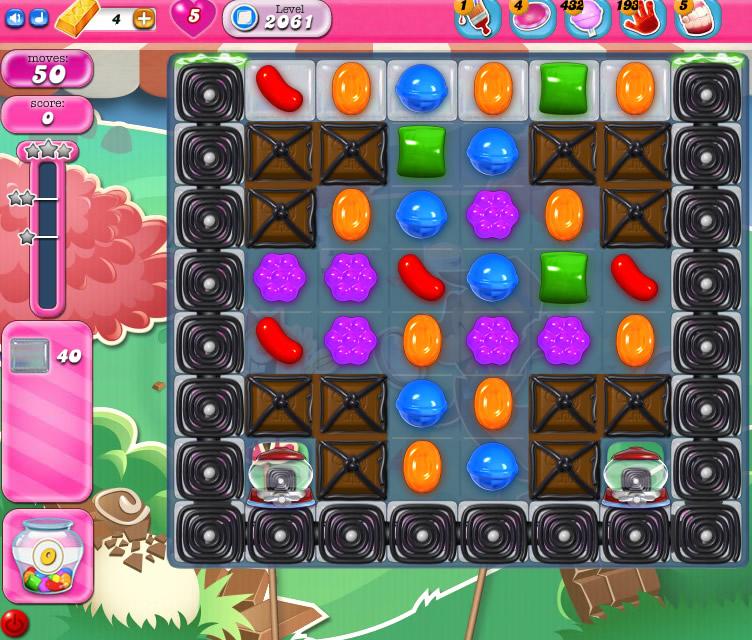 Candy Crush Saga level 2061