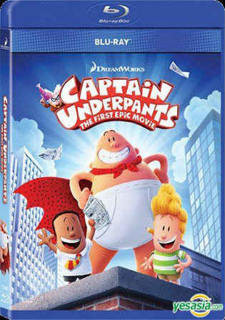 Captain Underpants The First Epic Movie 2017 BRRip 300MB Hindi Dual Audio 480p Watch Online Full Movie Download bolly4u