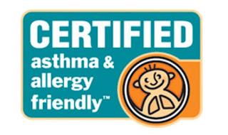 Certyfikat Amerykańskiej Fundacji Astmy i Alergii AAFA