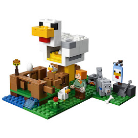 Minecraft The Chicken Coup Lego Set
