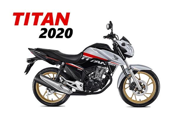Foto da Titan 160 2020