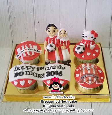 Cupcake Ulang Tahun DELTRAS FC