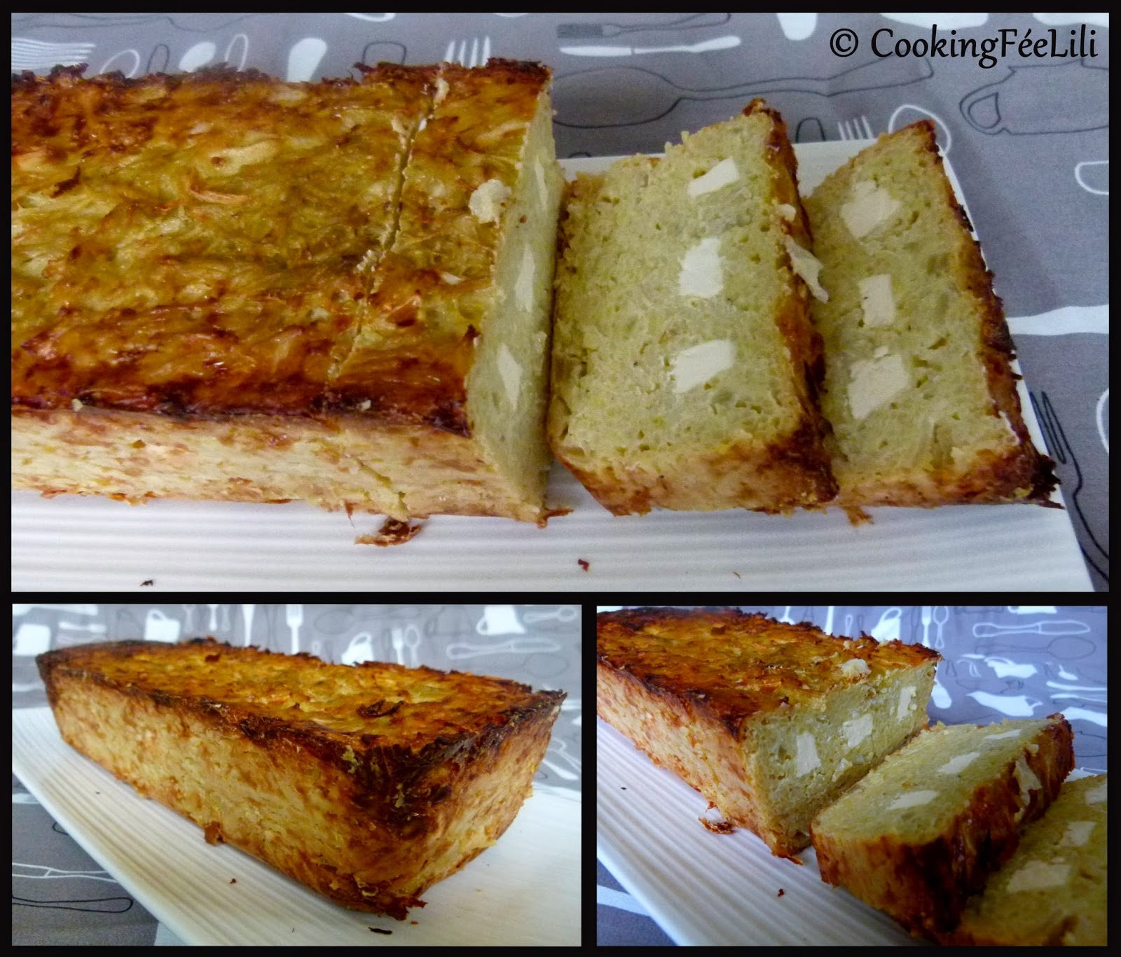 Cake Froid Fromage A Raclette Et Jambon