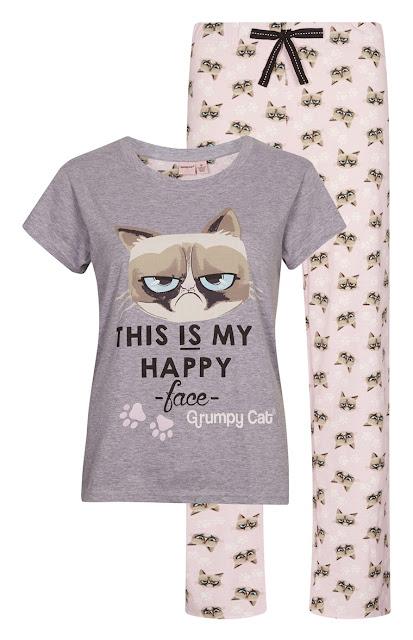 Pijama Grumpy cat Primark