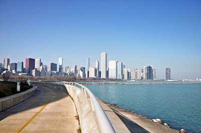 Lake Michigan & Skyline, Chicago