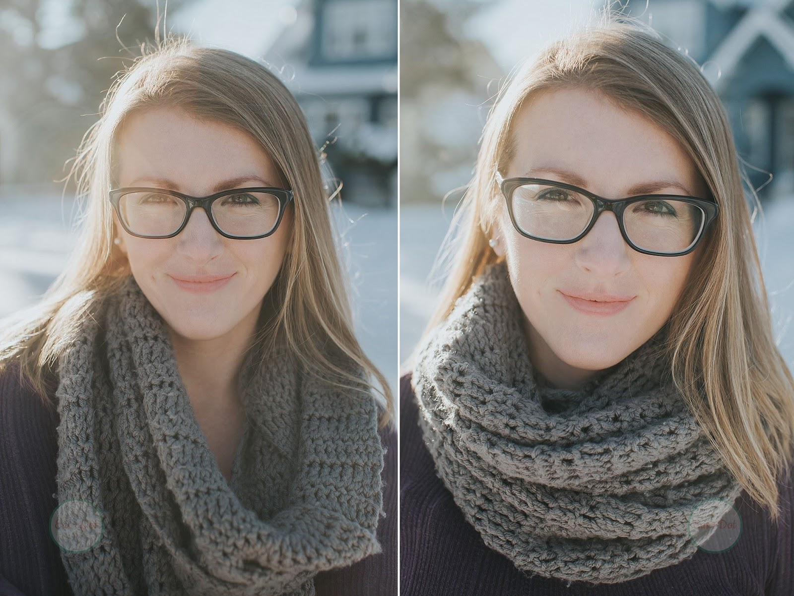 The Ridgely Infinity Scarf, Crochet Scarf, Circle Scarf, Winter Scarf, Gifts for Her, Gifts for Him, Eris and Dot