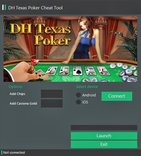 DH Texas Poker Hack - 100%Works Download Free