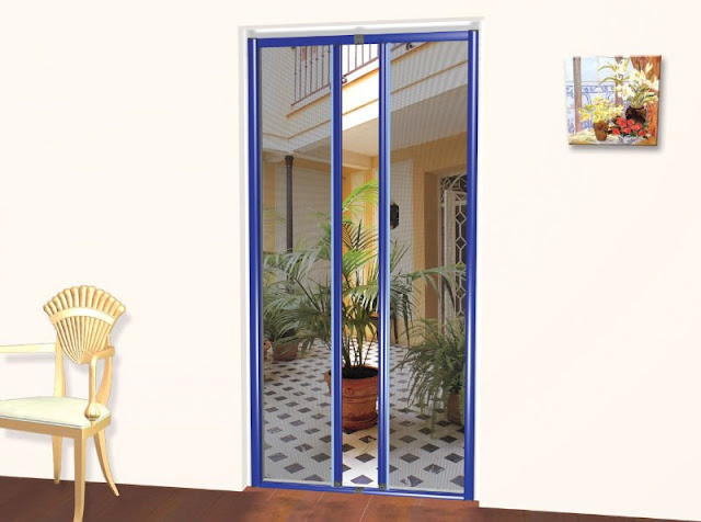 Suitable for Balconies Kitchen \u0026 Main doors. & Mosquito Net Doors | Mosquito Nets and Blinds Pezcame.Com