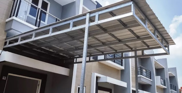 model kanopi galvalum terbaru