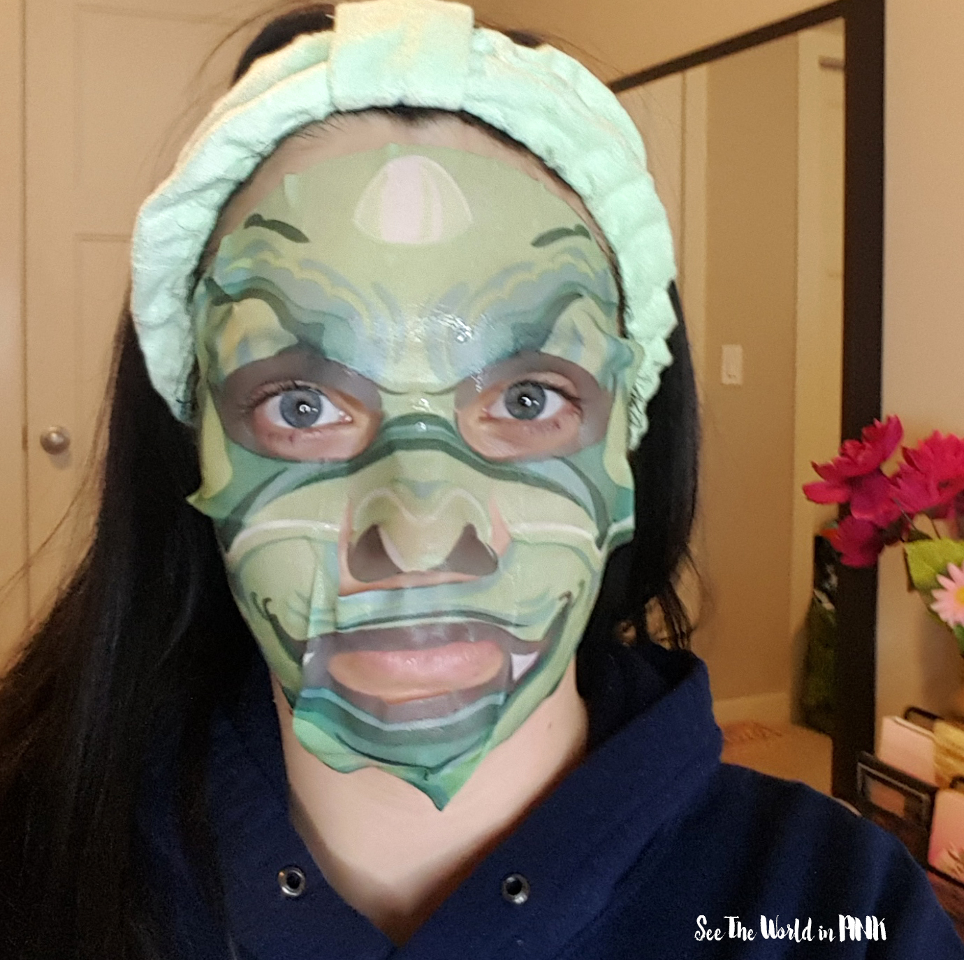 Skincare Sunday #CBBGetsSheetFaced SNP Animal Dragon Soothing Mask