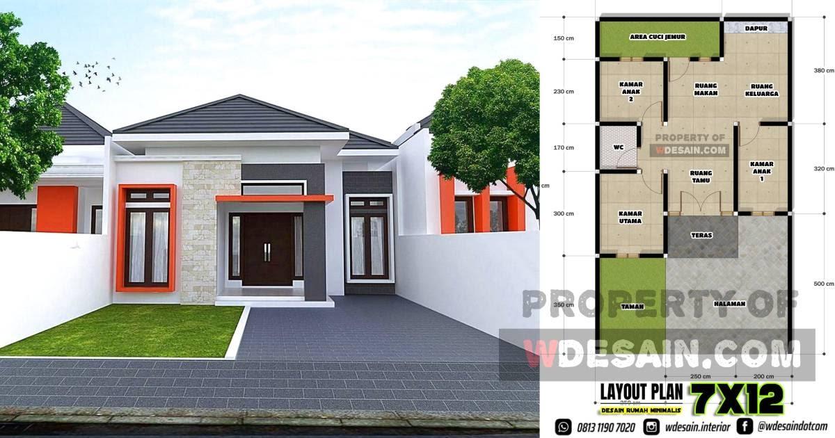 Rumah Minimalis 2020 3 Kamar Tidur Desain Rumah Minimalis