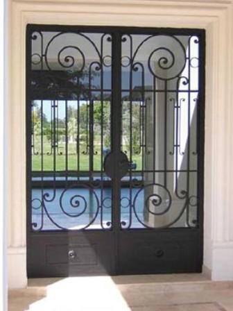 Servicios de carpinteria de metal y madera en tarapoto - Puertas de metal para casas ...