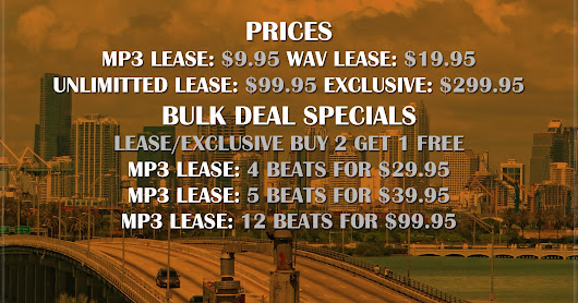 PRICES AND BULK DEAL SPECIALS