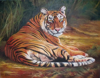 Rumondang Art Gallery Lukisan Harimau