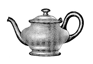 teapot digital download tea clip art