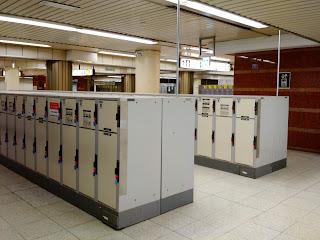 Le Chameau Bleu - Japon - Locker - Consigne dans les gares du Japon