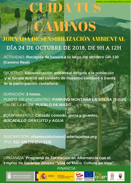"""Jornada de Sensibilización Ambiental """"Cuida tus Caminos"""""""