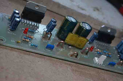TDA7293 Power Amplifier Circuit