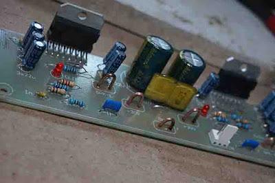 TDA7293 Power Amplifier Circuit