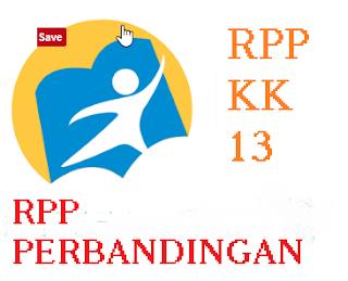 RPP perbandingan Kurikulum 2013