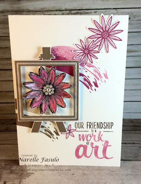 Work of Art and Grateful Bunch - Narelle Fasulo - Simply Stamping with Narelle
