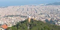 Observatorio Fabra y Barcelona de fondo