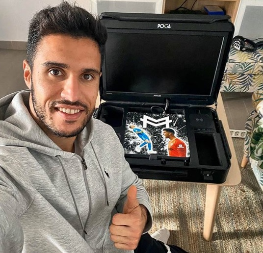 "Málaga, Munir se apunta a las consolas portátiles ""POGA"""
