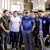 LOOK: President Duterte and Mayor Sara Duterte personally inspects the blast site in Jolo Sulu