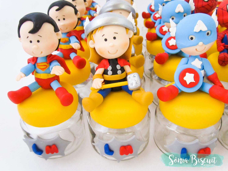 Biscuit, Sonia Biscuit, Potinhos, Heroi, Marvel, DC, Herois