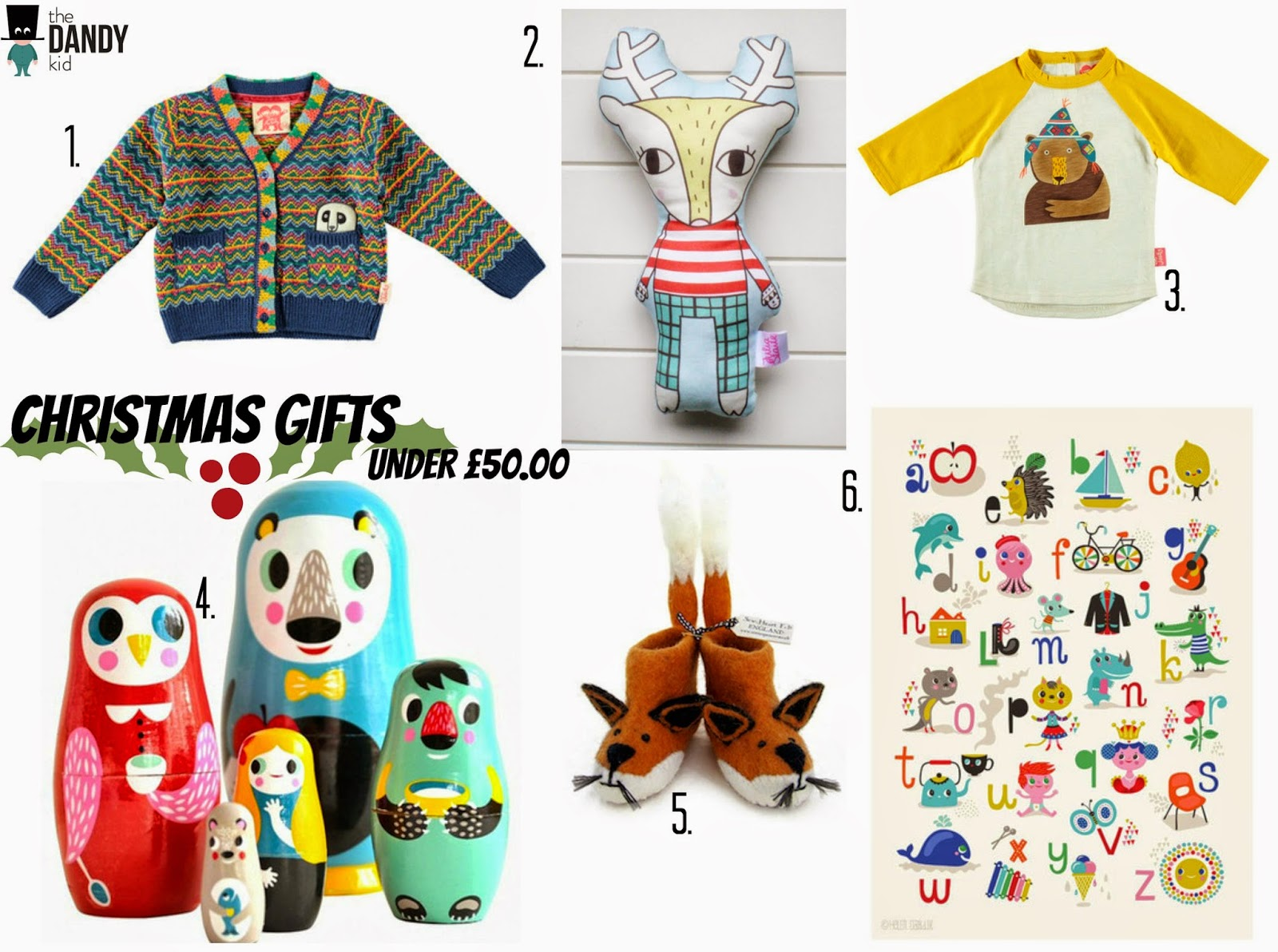 c0fd9fac9 Christmas Gift List and Amazing GIVEAWAY with The Dandy Kid | Little ...
