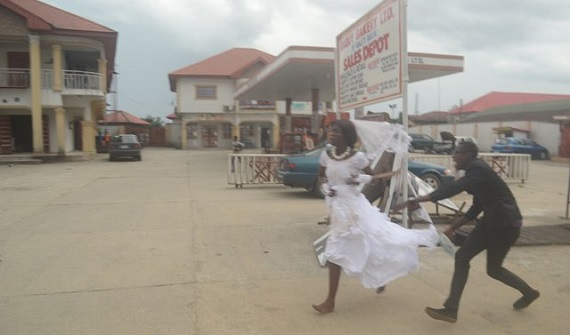 Image result for This Is The Real Reason Why Runaway Bride Jilted Her Groom At Wedding Reception In Delta State