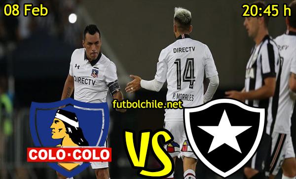 Ver stream hd youtube facebook movil android ios iphone table ipad windows mac linux resultado en vivo, online: Colo Colo vs Botafogo
