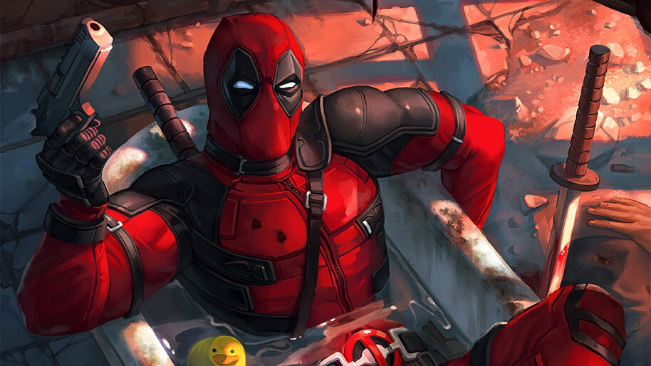 Deadpool, Marvel, Anti Hero, 4K, #6.2033