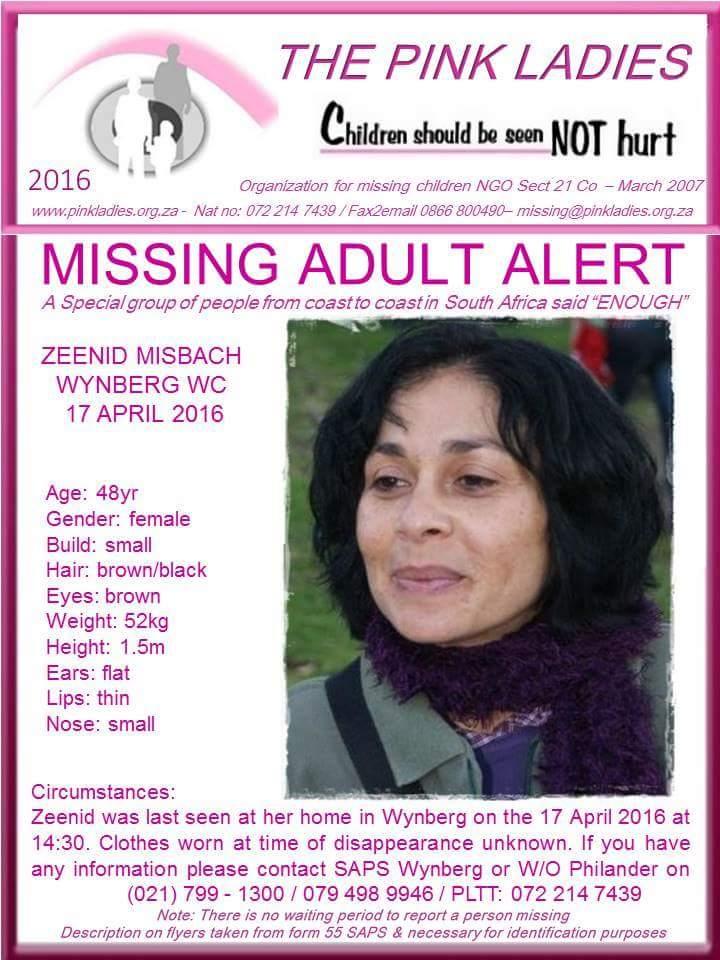 Adult Missing 44