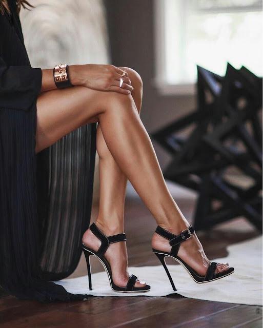 Straple heels