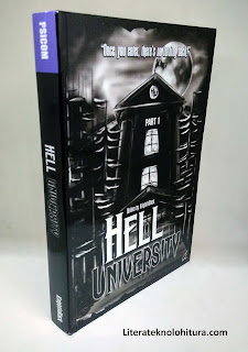 hell university part 1 front cover art