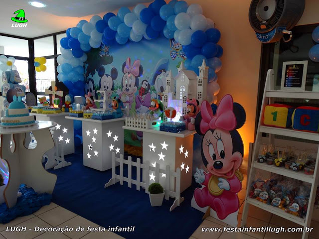Mesa decorada infantil Baby Disney - provençal