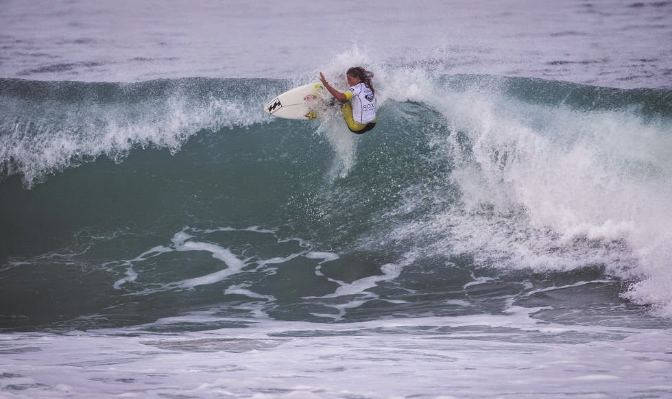 Roxy Pro France 2014 Courtney Conlogue Foto ASP