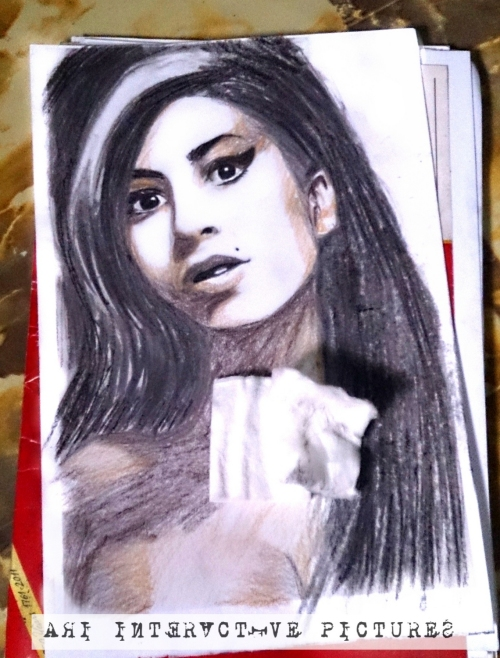 Background Gradasi Warna Coklat Ari Interactive: Painting Winehouse, My First Charcoal