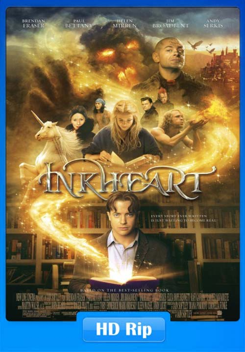 Inkheart 2008 720p Hindi Dubbed BDRip x264 | 480p 300MB | 100MB HEVC