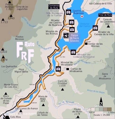 Ruta miradores de Félix Rodriguez de la Fuente, Parque Natural de la Sierra de Cazorla, Andalucía