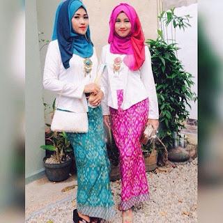 kebaya kutu baru hijab kreasi untuk acara resmi